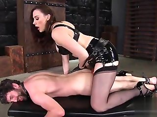 femdom, bdsm, stockings, straight, strapon, toys