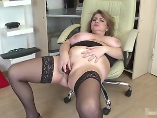 big tits, bbw, european, mature, milf, solo female
