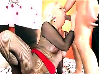blonde, anal, blowjob, interracial, lingerie, mature