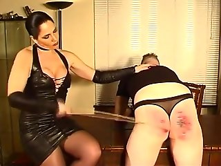 femdom, big tits, high heels, latex, straight,