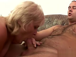 granny, blonde, mature, milf, straight,