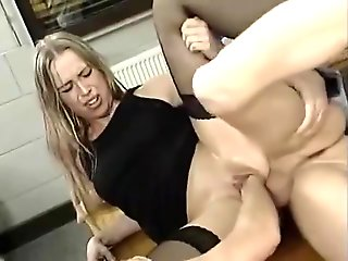 blonde, anal, double penetration, fisting, german, straight