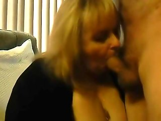 blonde, big tits, blowjob, granny, straight,