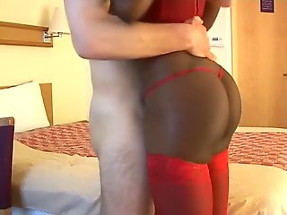 blowjob, big tits, british, cumshot, handjob, interracial