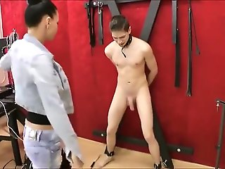 fetish, ballbusting, foot fetish, hardcore, straight,