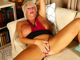 granny, big tits, masturbation, mature, straight,